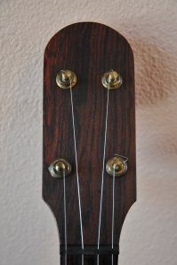 front peg head with cocobolo veneer