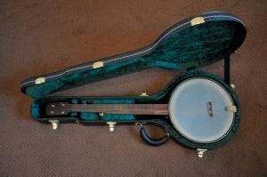 Connie's banjo